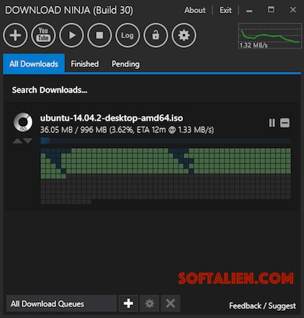 Ninja Download Manager Screenshots