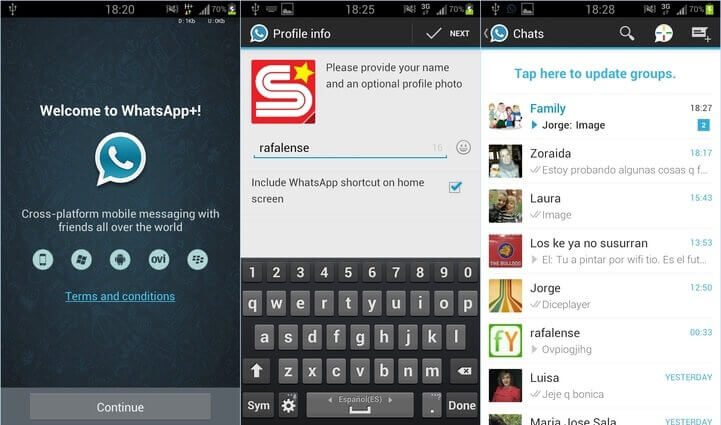 WhatsApp Plus Apk Screenshot