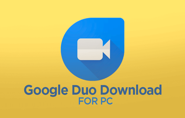 download google duo for pc