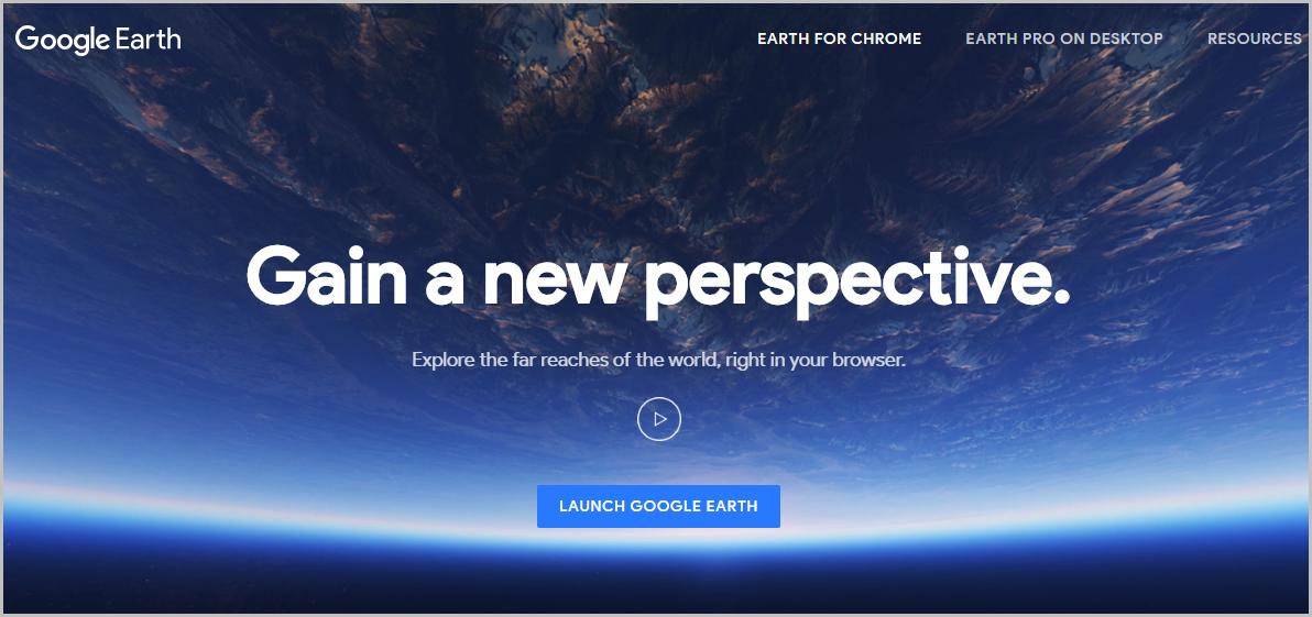 Google Earth Web