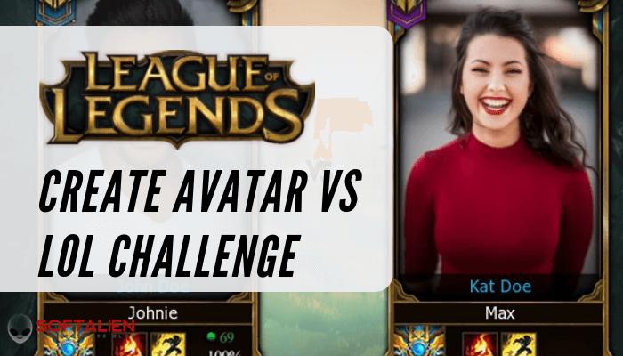 Avatar Vs LOL Challenge